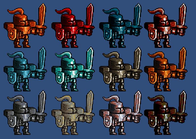 Sprite Color FX – Ibuprogames