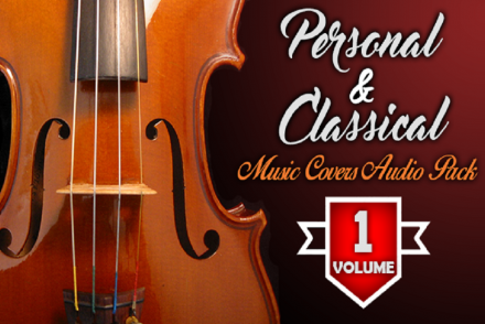 Personal & Classical Music Covers Audio Pack